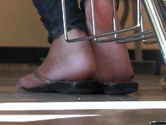 Tory Lane en escena fetichismo del pie
