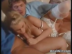 Sexy Blonde Double Penetrated Classic