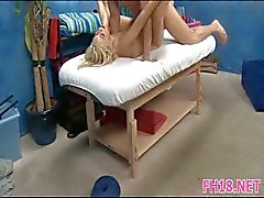 Massagem com a mínima surpresa
