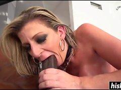 Sara Jay likes a big black cock