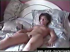 Home movie mijn vrouw Carina in 1995