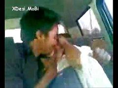 Desi Coleg Gf Enjoyed By Her Bf In Car by xdesi