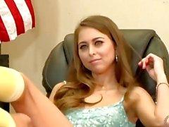 Schoolgirl Riley Reid has been naughty