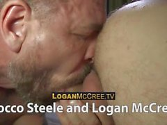 Rocco Steele and Logan McCree in Las Vegas
