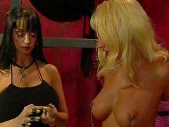 Busty Bondage Lesbians - Scene 1