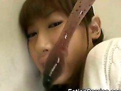 Tentacles Jizz On Asian Schoolgirl!