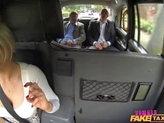FemaleFakeTaxi Salesmen have an unforgettable