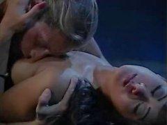 Leena Asia Carrera di Tom a Byron nel classica di video xxx