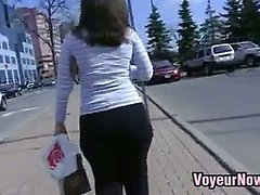 Sexy Yoga Pants In Public