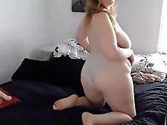 Hot Mollige Frauen Frau Stephanie Masturbiert Muschi