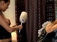 elegant fetish anal actions with latex and bdsm