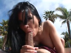 Ex girlfriend surprise cum in mouth