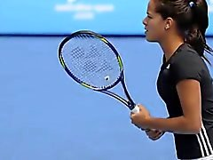 Ana Ivanovic is hot! Sexy On-Court Impressions Part 6 of 6