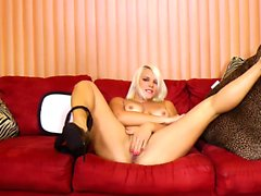 WANKZ Blonde Bombshell Blows Cocks and Minds