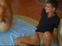 Europeo del Este Twink HUGE Dick Bareback Fuck
