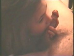 amateur lustful - French lascivious wife - striptease and passionate blowjob