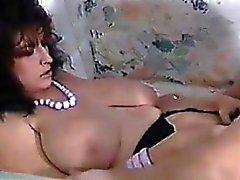 Брюнетка с Биг синицы Любит Своего Cock