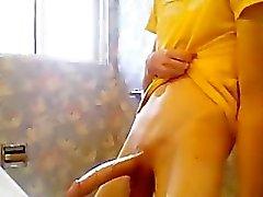 Dünnes Twink mit riesige Sperma