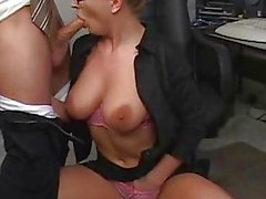 Hot Babe Avy Scott Takes A Big C...