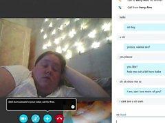 gordinha me faz cum em skype - webcam sexo