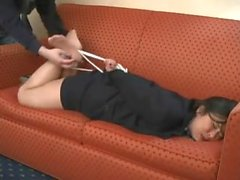 Di Tomiko Hogtie Tickled