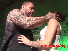 Jordanne Kali e Rob Diesel follando en FEDA 2015