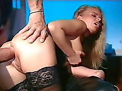 Dora V Takes a Thick Cock In Her Ass and Pussy