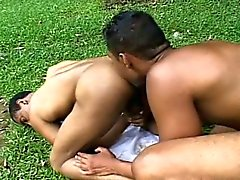 Extreme Beefy Fucking and Sucking on the Grass