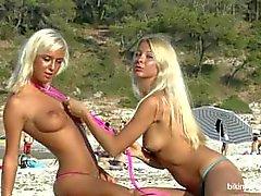 Natali Blond Lea Tyron weißer Sand cont.