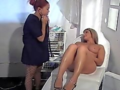 BUSTY BABE TOYING A NAUGHTY NURSE...usb