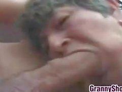 Grandma Getting Double Penetrated