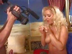 Sexy stars Daria Glover and Barbara Summer suck and fuck the cameraman