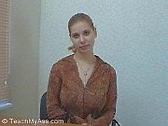 Trixi ( TeachMyAss ) Isot rinnat amatööri- anaali- opetus