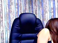 Big boobed brunette Kayden Kross enjoys solo masturbation