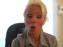 Lesbian At The Office 1