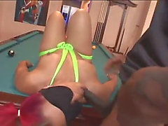 Pigtails gal getting screwed