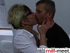Mature Stepmom Comforting A Broken Heart - She is from MILF-