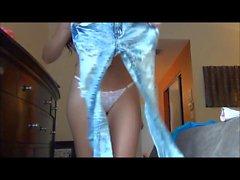 Janessa Brezilya - Jeans çalışılıyor