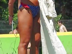 Sexy Hot Beach Bikini Babes Curtição HD Voyeur Video