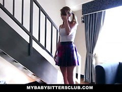 MyBabySitters - Slim BabySitter Fucking Her Boss