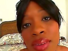 Ebony beauty Tina gets fucked in all holes