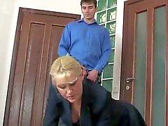 Horny Russian Mature Fucking