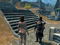 Perils of escaped Skyrim slavegirl 21