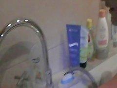 Russian Mija in the shower