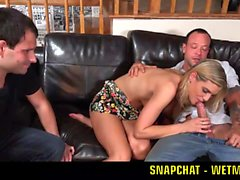 Makes Husband Watch HER SNAPCHAT - WETMAMI19 ADD