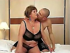 Chubby Granny Wants Some Stiff Cock