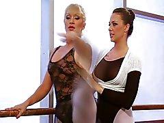 Lesbisch balletdansers