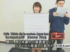 Tekstitetty Japani tietovisa jossaalaston kilpailija