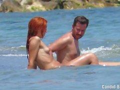 Çıplaklar Seksi Özel plaj Çiftler Voyeur Spycam HD Video