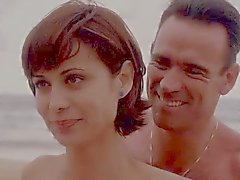 Catherine Bell JAG S05 E15 bikini blu